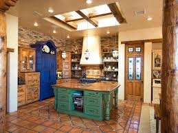 schoolhouse pendants beadboard country kitchen aqua ceiling
