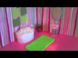 how to make a mini doll bathroom for lalaloopsy or littlest pet