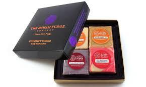 fudge gift boxes fudge gift box the hawaii fudge company groupon