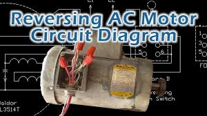 reverse baldor single phase ac motor circuit diagram youtube