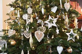 silver and gold tree ornaments rainforest islands ferry