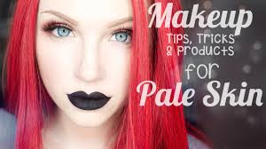 top 25 makeup tips tricks u0026 products for pale skin youtube