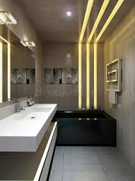 Urban Style Interior Design - bathroom interior in urban style stock illustration image 34707559