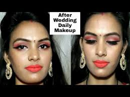 bridal makeup tutorial indian bridal makeup tutorial in after the wedding daily
