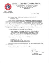 Letter To The District Attorney by Victory In Shelby County Tennessee U2014 Cosmo Hurts Kids