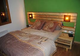 Headboards Made With Pallets Creative Pallet Wood Repurposing Designs Dearlinks