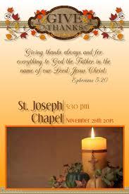thanksgiving mass template postermywall