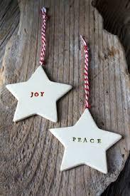 joy star pottery ornament ceramic artists christmas tree and