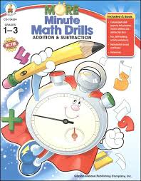more minute math drills addition u0026 subtraction 042074 details