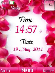 microsoft themes for nokia c2 01 free nokia c2 01 rose clock software download in themes wallpapers