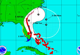 Map Of Florida And Bahamas by Could Hurricane Matthew Loop Around And Hit Florida For Second