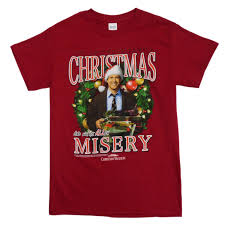 national lampoon christmas vacation mens red t shirt christmas