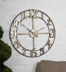 charming metal art wall clock 26 juliana contemporary butterfly