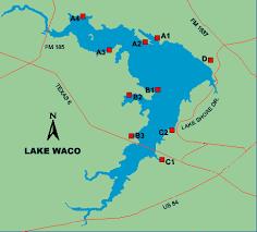 map waco lake waco access