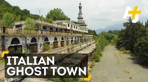 abandoned town for sale a las vegas style ghost town is for sale in italy youtube