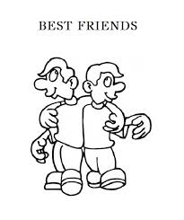 friends coloring pages free coloring pages 124
