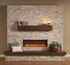 linear fireplace binhminh decoration