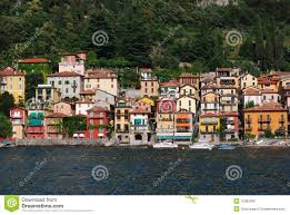Lake Cuomo Italy Map by Old Houses Near Nesso Village At Lake Como Italy Stock Image