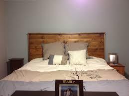 homemade headboard for king size bed home decor pinterest