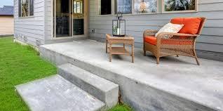 concrete porches custom porches elk city ok