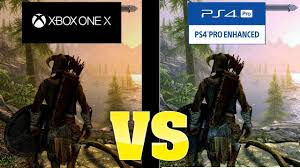 pubg xbox one x graphics elder scrolls v skyrim graphics comparison xbox one x vs ps4 pro