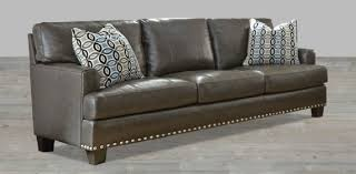 rc willey sofa charcoal grey leather sofa gray leather couch contemporary
