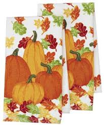 thanksgiving dish towels funtober