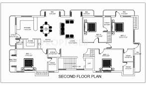 1350 sq ft 4 bhk floor plan image india the sathya available for
