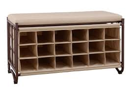 entryway bench shoe storage organizer seat hallway cubbies home