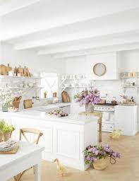 modern farmhouse kitchen with white cabinets 34 farmhouse style kitchens rustic decor ideas for kitchens