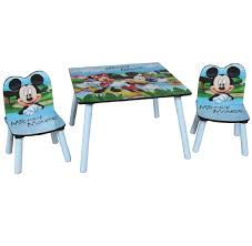 mickey mouse end table disney mickey mouse wooden childrens table two chairs set kids