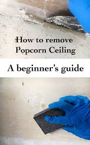 remove popcorn ceiling a beginner u0027s guide anika u0027s diy life