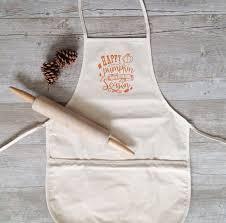 when does thanksgiving fall on thanksgiving apron pumpkin spice apron fall baking bag cotton