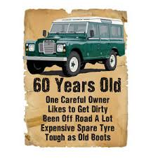 60 year birthday gift 60 year 60th birthday gift land rover stupid tees t