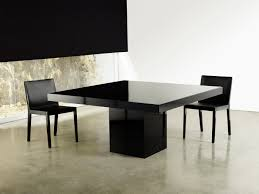 Black Square Dining Table Modern Square Dining Table Visionexchange Co