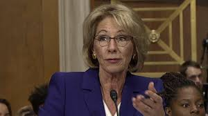 why people are pissed betsy devos is the new education secretary