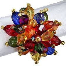 christmas napkin rings table linens 40 best napkin rings images on pinterest napkin rings napkins and