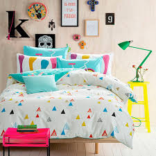 geometric pattern bedding colorful triangle geometric pattern kids bedding sets lbd05031645004 1 jpg