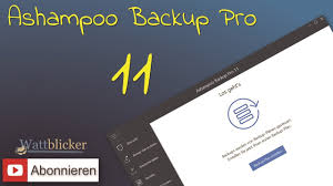 ashampoo backup pro 11 review youtube
