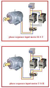 forward reverse three phase motor wiring diagram elec eng world