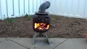 Propane Tank Firepit Pit Chiminea From Propane Tank Page 2