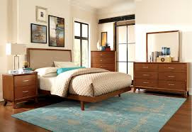 Mid Century Bedroom Set - Mid century modern blonde bedroom furniture
