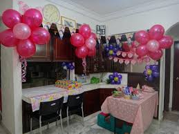 Wall Decoration At Home by Birthday Decorations At Home Marceladick Com
