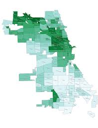Chicago Heights Map by Changes In Chicago Rent Move Matcher
