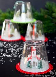 diy snow globe ornaments craft diy snow globe snow globes
