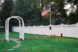 vinyl fence boston ma pvc fencing in worcester u0026amp newton