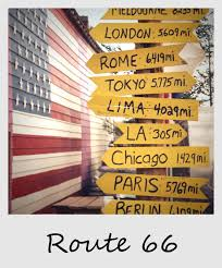Map Of Route 66 From Chicago To California by Polaroid Of The Week Route 66 Signs Jpg 1104 1330 Signs U0026 Ads