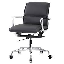 Black Leather Office Chairs Office Chairs