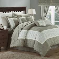 24 Piece Comforter Set Queen Chic Home Aida 24 Piece Queen Comforter Set Walmart Com