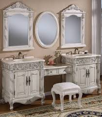 Bathroom Vanities And Cabinets Clearance by Decorations Custom Design Of Double Vanity With Makeup Area
